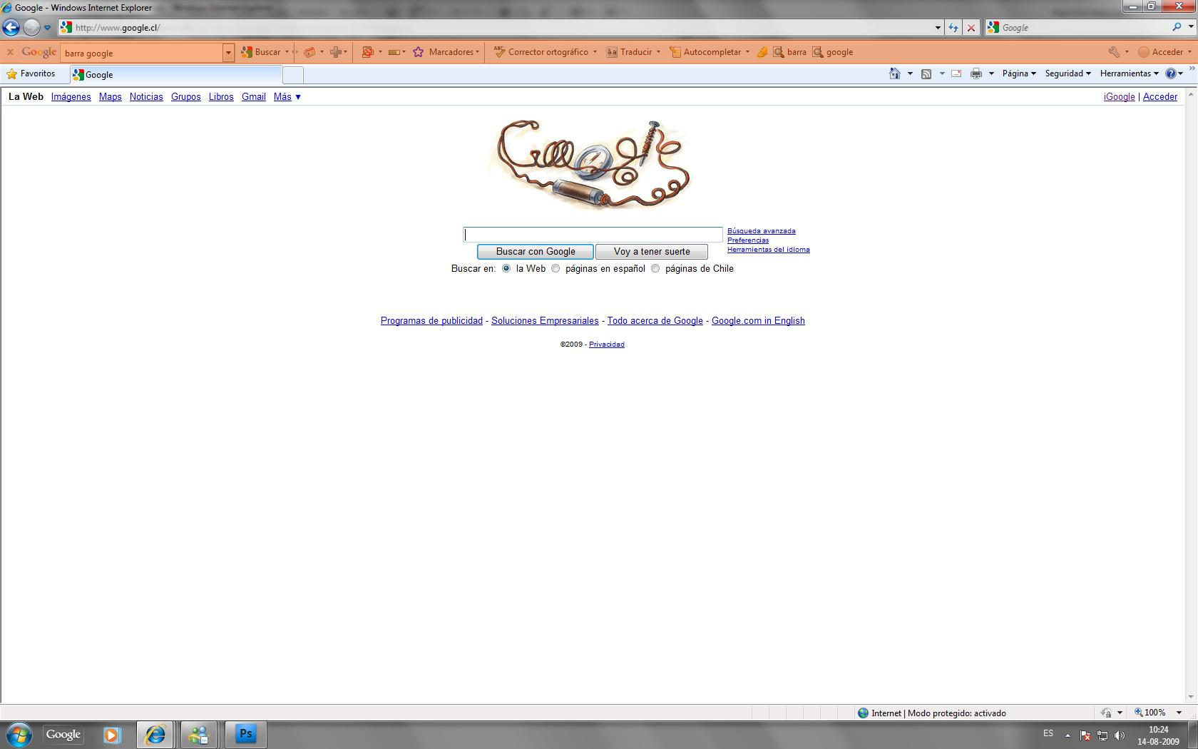descargar barra google